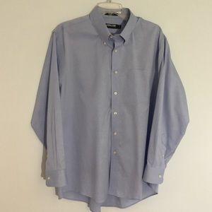 Kirkland's Men's Long Sleeve Dress Shirt 16 1/2
